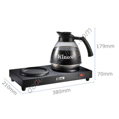 kích thước Bộ bếp hâm cà phê cùng bình hâm cà phê Kinox 330393