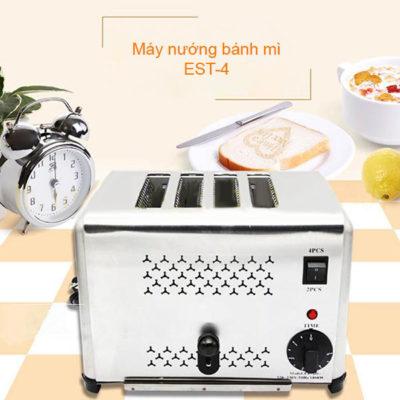 Máy nướng bánh mì sandwich inox 4 ngăn ET-DS-4