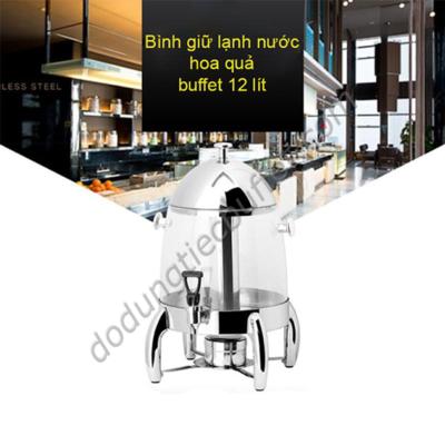 Bình giữ lạnh nước trái cây buffet 12 lít AT90012