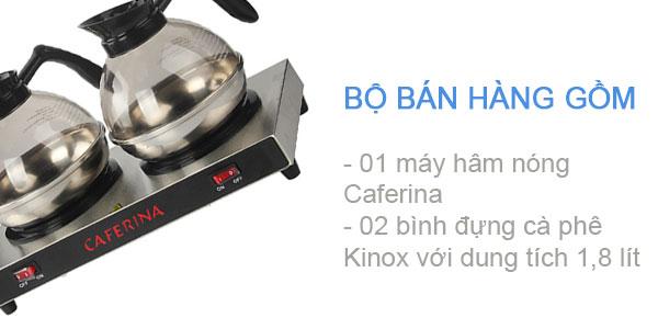 Thùng hàng bếp giữ nóng cà phê