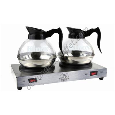 Bộ bếp hâm cà phê Cheng's NTV cùng bình đựng cafe Kinox CF23-B5
