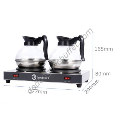 kích thước Bộ bếp hâm cà phê Bemxci cùng bình đựng cà phê Klnox CF23-B9