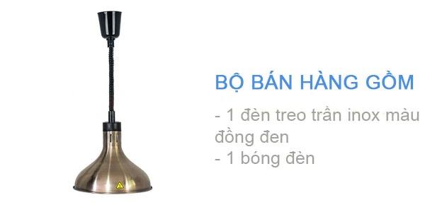 Thùng hàng đèn giữ nóng thức ăn