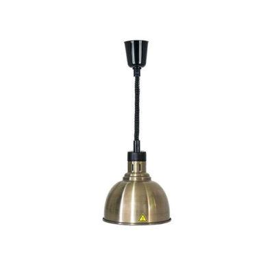 Đèn hâm nóng thức ăn treo trần inox xi đồng đen DA2550