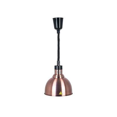 Đèn hâm nóng thức ăn treo trần inox xi đồng DA2551