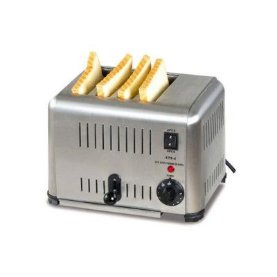 Máy nướng bánh mì sandwich inox 4 ngăn ETS-4