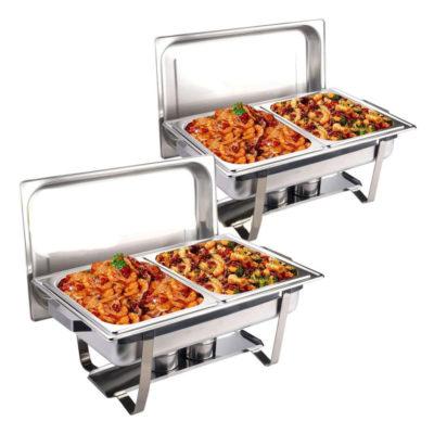 Cho thuê nồi hâm buffet 2 ngăn