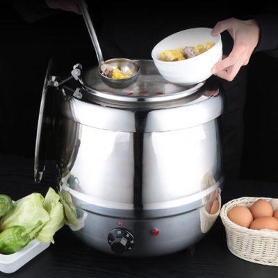 Nồi hâm soup buffet inox sử dụng điện 10 lít NS2217S
