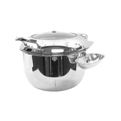 Nồi soup buffet tròn cho bếp từ đáy 2 lớp S502288