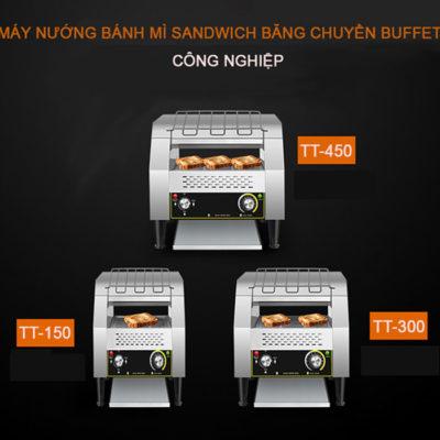 Máy nướng bánh mì băng chuyền rộng vừa 2 lát sandwich TT-300