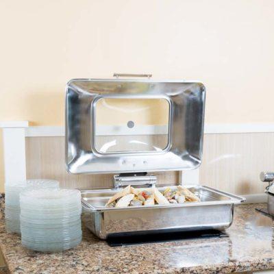 Nồi hâm buffet chữ nhật cho bếp từ đáy 2 lớp S605593
