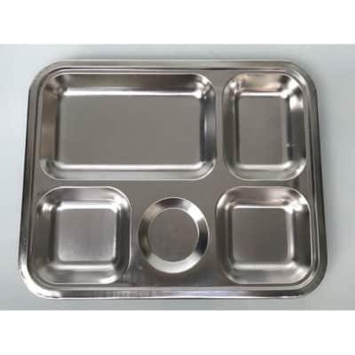 Khay cơm inox 304 5 ngăn KC2929-304