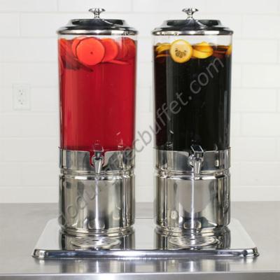 Bình giữ nhiệt nước hoa quả 14 lít bằng đá gel 2 ngăn AT90212-2